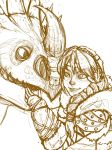 Astrid and Stormfly Sketch WIP by Manasurge