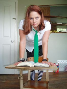 School Girl Stock 4 by diva-in-pink