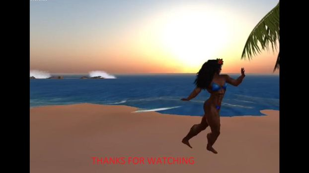 Cathy Hot Dance (read desc) by musclewolfofsl