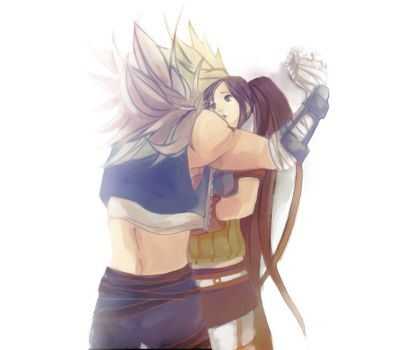Fighter and Slayer by hunberryGuruma