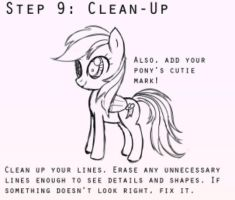 The eight steps to drawing ponies! 8/8 by masterchief80786