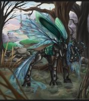Queen Chrysalis by Key-Feathers