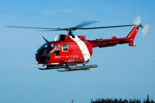 Canadian Coast Guard Bo-105 by altitude604