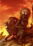 The lion : Leo by Lily-Fu