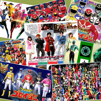 Super Sentai by amay3190