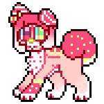 Strawberry Mutt Icon Large by royalraptors