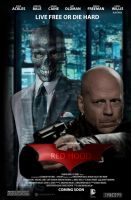 Red Hood - Black Mask - Movie Poster by Delorean7