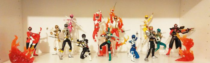 S.H. Figuart Sentai Ranger Collection by hk-1440