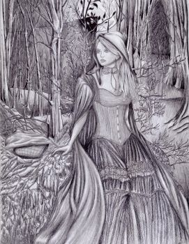 Red Riding Hood by Visualiart
