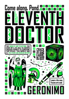 Eleventh Doctor: Poster by jacqui-kate