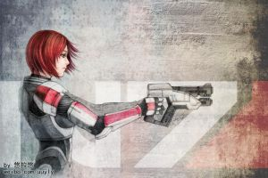 I'm Commander Shepard by uuyly