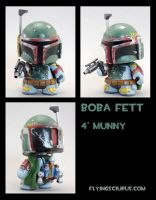 Boba fett custom munny by FlyingSciurus