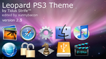 Leopard PS3 Theme, version 2.5 by sunnybacon