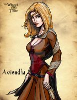 The Wheel of Time: Aviendha by darlinginc