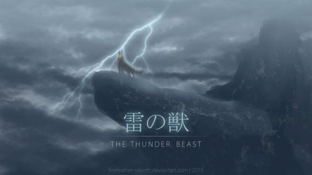 The Thunder Beast by FireFeather-Rebirth
