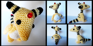 Ampharos by TheSmall-Stuff