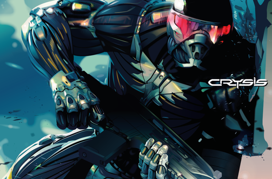 Crysis by analeiteillustrator