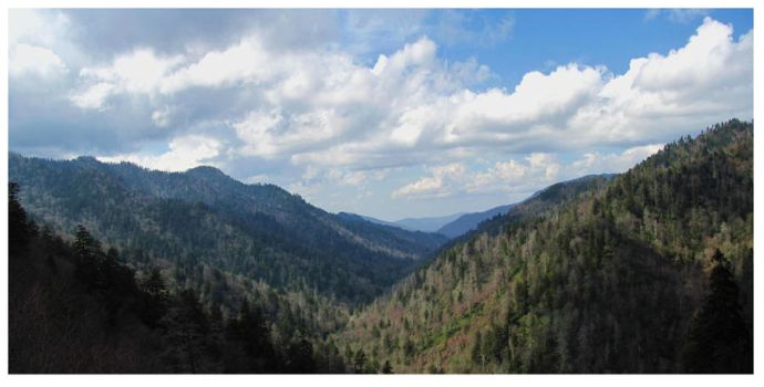 This land - The Smoky Mountains by Crystal-Marine