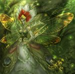 Finished Green Queen Faery by driany