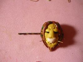 Lion clip hair by sagaslover