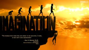 I... ma...gi... nation- Romans 1:25 by SympleArts