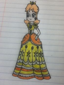 Princess Daisy for super smash bros 4! by earthbouds
