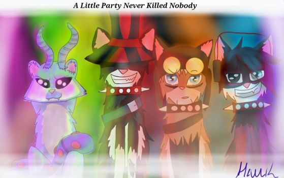 A Little Party Never Killed Nobody. by homestucklover14