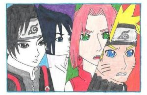 Team 7 (colored and scanned) by CTPikk1223