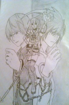 Death Note WIP by Sa-chan2000