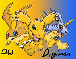 Digimon by DYW14