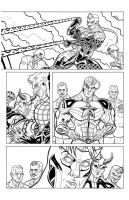 MAJESTIC XII PAGE 6 INK by MAJESTIC-XII-COMIC