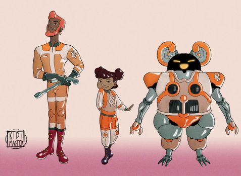 Character Designs 002 by KidiMaster
