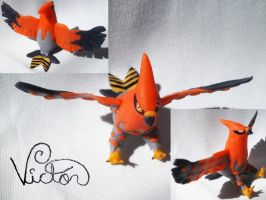 663 Talonflame by VictorCustomizer