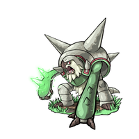 Chesnaught used Needle Arm