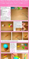 How to Make Cupcake Earrings by geurge