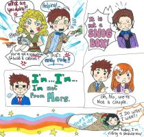 Doctor Who Sketchdump by WhatItMeansToBeHuman