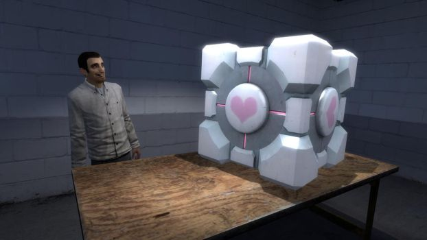 Ent_create_portal_companion_cube by JJsonicblast86