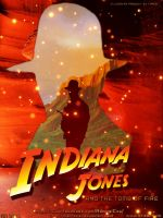 Indiana Jones and the Tomb of Fire - Cos Poster by Joran-Belar