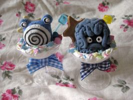 Poliwhirl and Tangrowth PokeParfaits