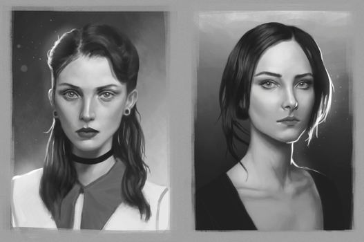 Portraits by CChhim