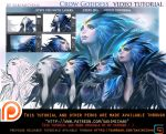 Crow Goddess video tutorial pack.promo. by sakimichan