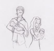 Faustino, Miranda and their Children by Miss-Minimeal