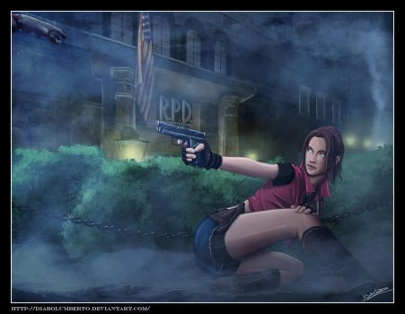 Claire Redfield -Resident evil by diabolumberto
