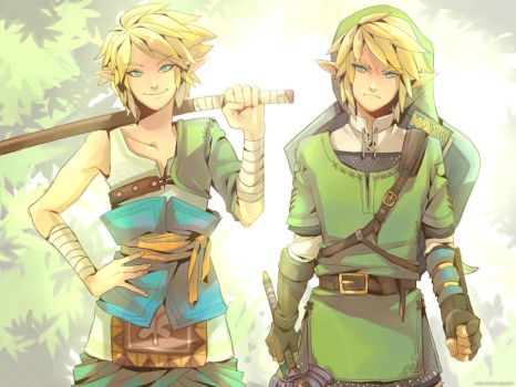 link and link by vanillatte54