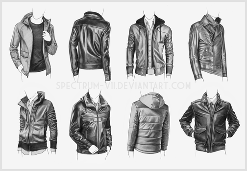 Clothing Study - Jackets 4 by Spectrum-VII
