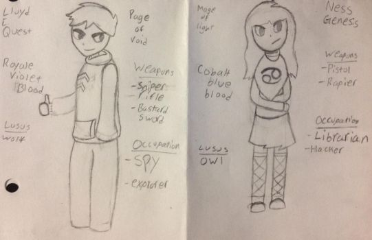 Homestuck Character Sketches (OC's) by DawnStarWhooves
