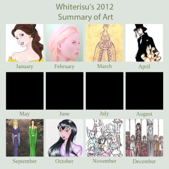 2012 Art Summary by Whiterisu