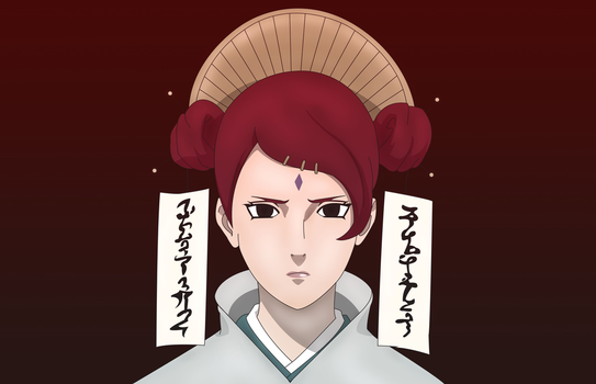 Mito Uzumaki (The First Lady) by Indiandwarf