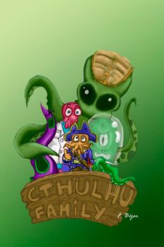 CTHULHU FAMILY by yesuifegnand