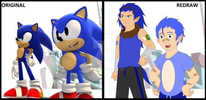 Sonic Generations Redraw by rockriled